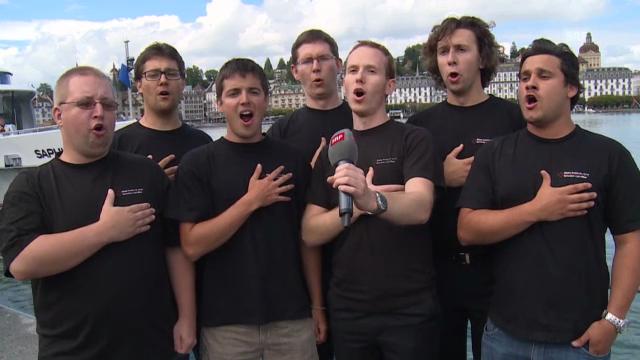 «Le ranz des vaches», gesungen vom Schweizer Jugendchor