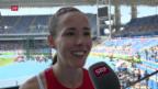 Video «Selina Büchel souverän im 800-Meter-Halbfinal» abspielen