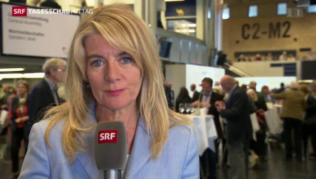 Video «SRF-Wirtschaftsredaktorin Marianne Fassbind zur Holcim-GV» abspielen