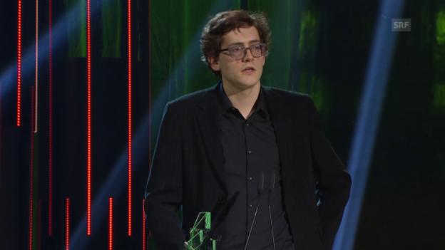 Video «Frederic Siegel, bester Nachwuchsfilm» abspielen