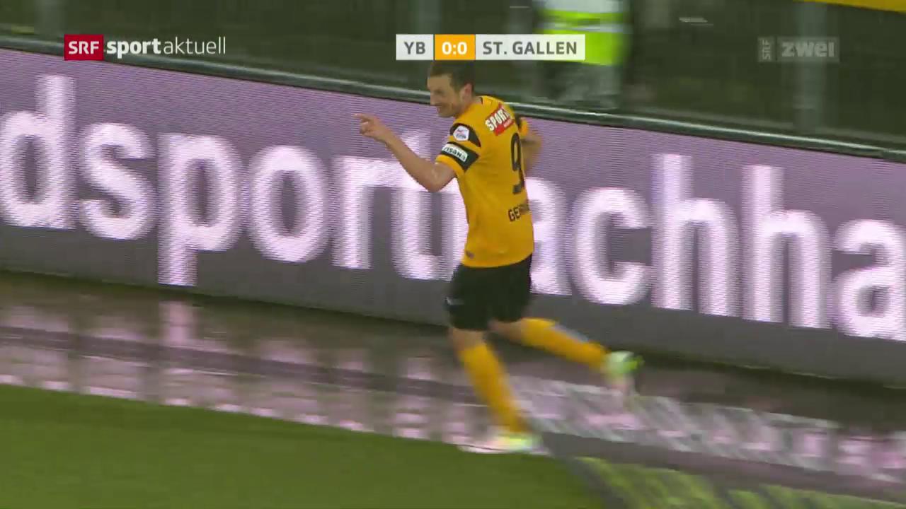 St. Gallen kann bei YB nicht gewinnen