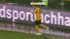 Video «St. Gallen kann bei YB nicht gewinnen» abspielen