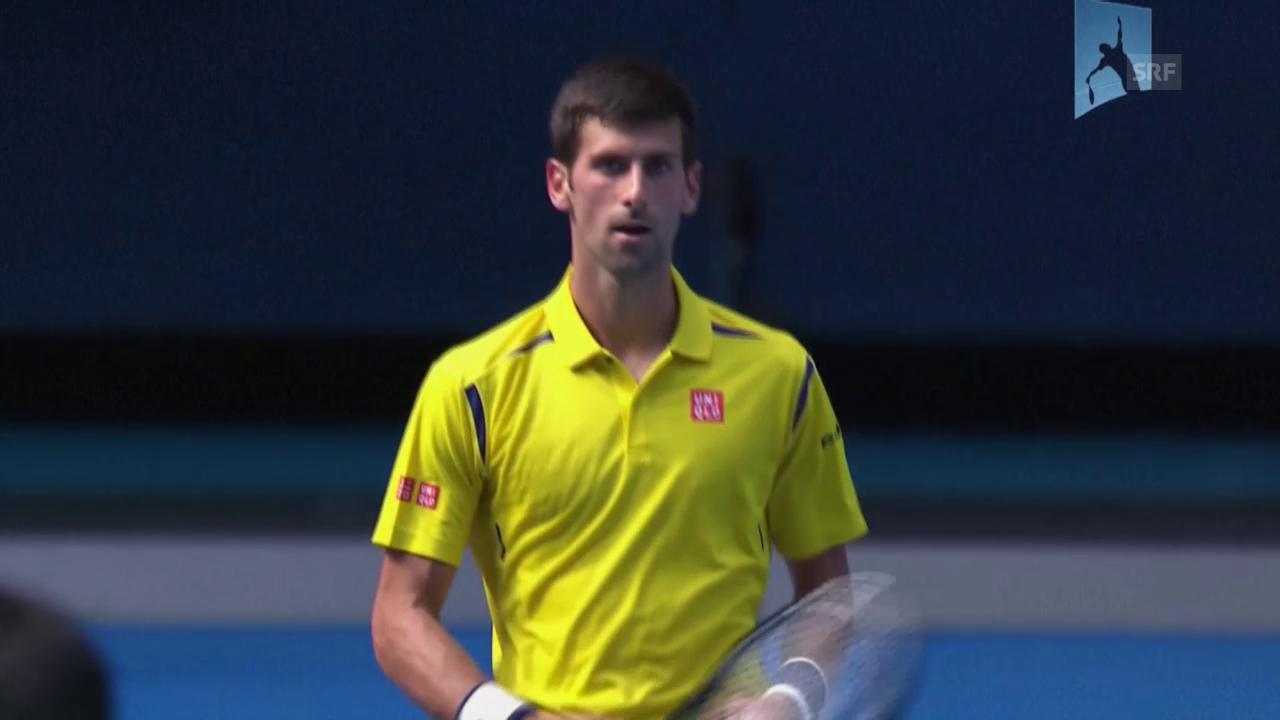 Australian Open: Matchbälle Djokovic und Williams