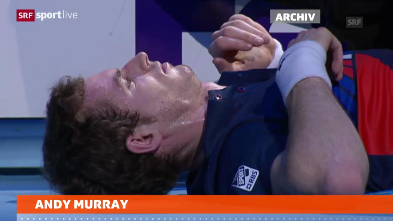 Tennis: Andy Murray muss sich operieren lassen («sportlive»)