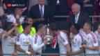 Video «Manchester United gewinnt zum 12. Mal den FA-Cupa» abspielen