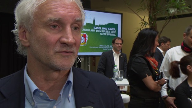Video «Fussball: Völler am 23. Juni über Mehmedi» abspielen