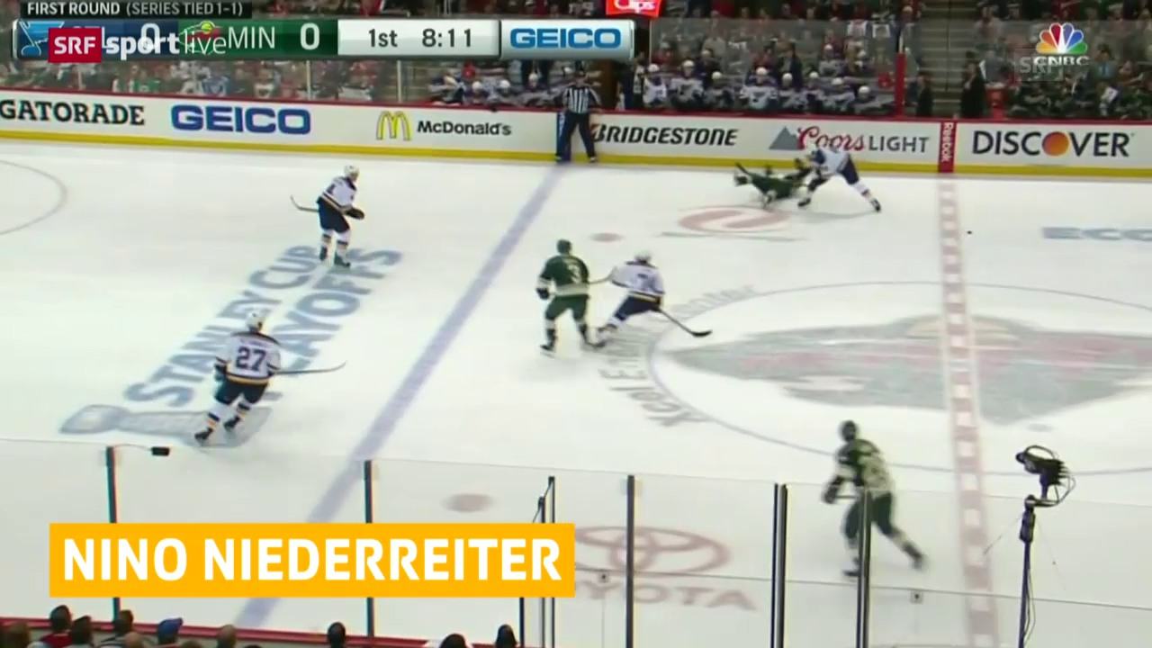 Eishockey, NHL: Niederreiter mit ersten Playoff-Tor
