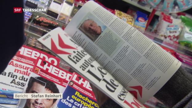 Video «Das Aus für «L'Hebdo»» abspielen