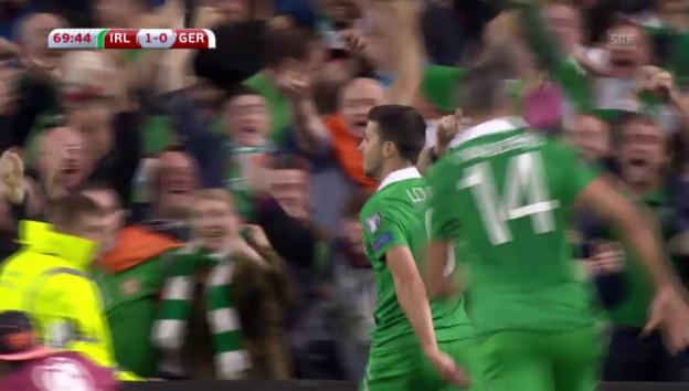Video «Fussball: EM-Qualifikation, Irland-Deutschland» abspielen