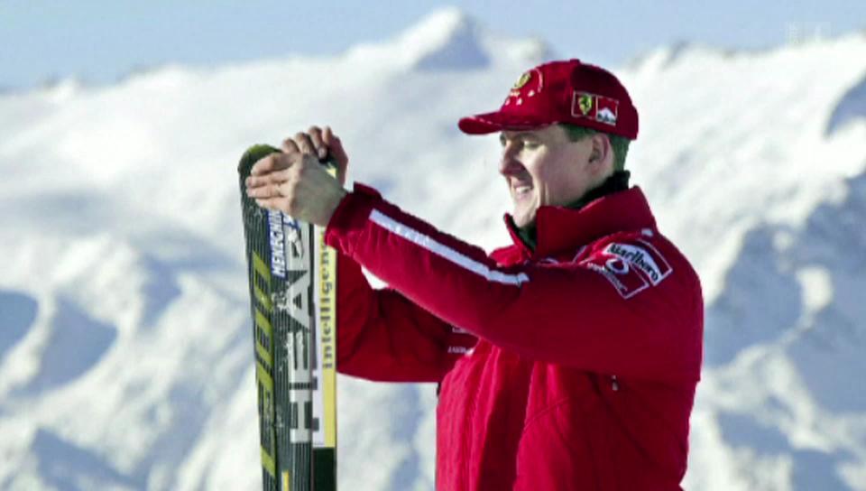 Michael Schumacher verunfallt Ende 2013