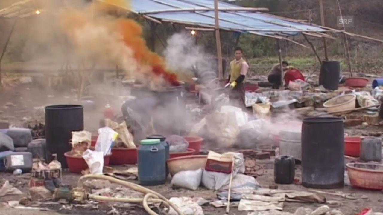 Recycling in Entwicklungsländern – ein Milliardengeschäft