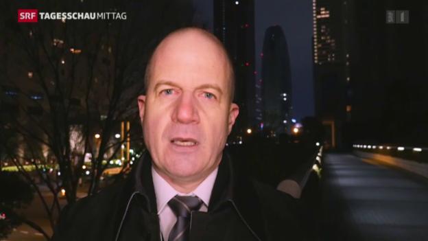 Video «Korrespondent Thomas Stalder zu Kim Jong Un» abspielen