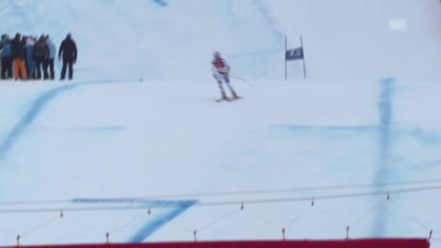 Video «Ski: Ausfall von Thomas Tumler» abspielen