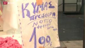 Video «FOKUS: Kleine Hoffnung für Unternehmer in Griechenland» abspielen