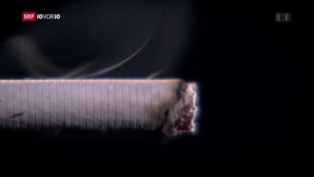 Video «Ständeratskommission bremst Verbot für Tabakwerbung» abspielen