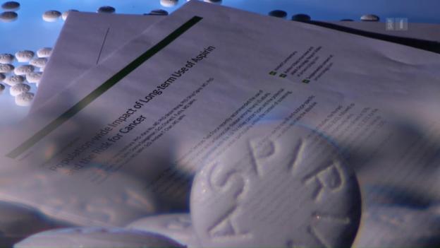 Video «Aspirin gegen Darmkrebs» abspielen