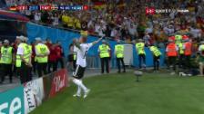 Link öffnet eine Lightbox. Video Kroos' Siegtreffer in der 95. Minute abspielen