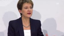 Video «Sommaruga: «Ich bin stolz, Justizministerin zu sein»» abspielen