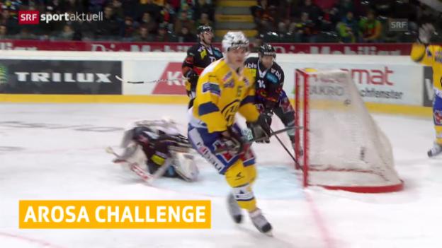 Video «Eishockey: Zwei Nachnominierungen für Arosa Challenge («sportaktuell»)» abspielen