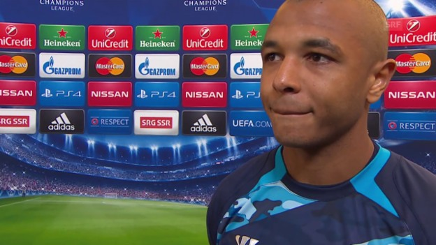 Video «Fussball: Champions League, Porto-Basel, Interview mit Yacine Brahimi» abspielen