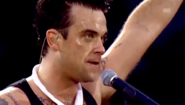 Video «Robbie Williams: «Come Undone» (Livekonzert)» abspielen