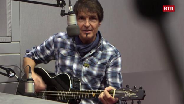 Laschar ir video «Paul Etterlin en il studio dal Radio Rumantsch»