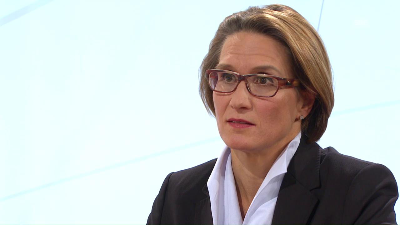 Andréa Maechler über mögliche Interventionen