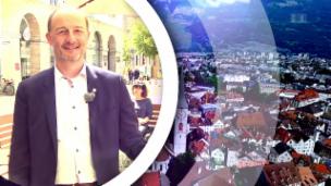 Video ««Meine Hauptstadt»: Stadtpräsident Urs Marti zeigt sein Chur» abspielen