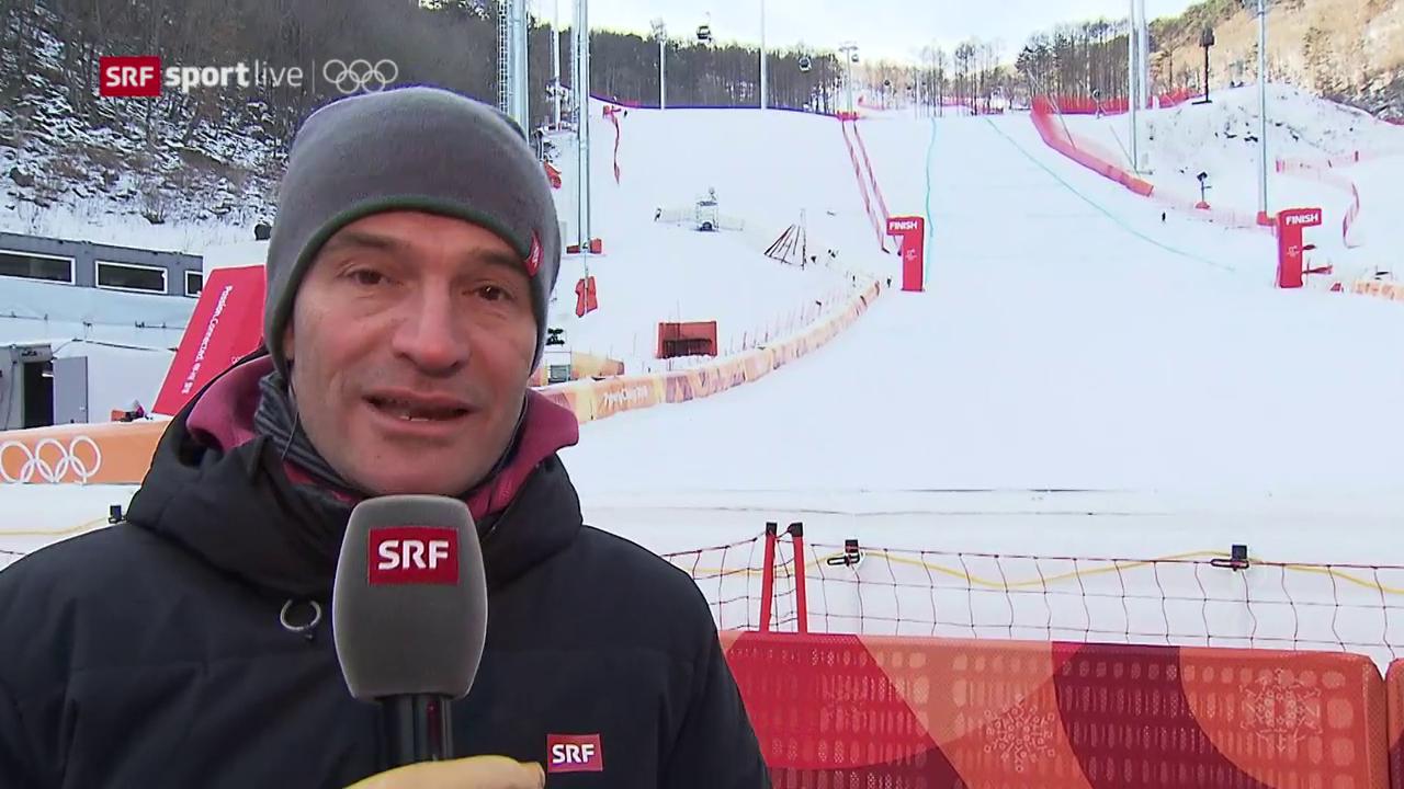 Ski-Kommentator Hofmänner zur Abfahrts-Absage