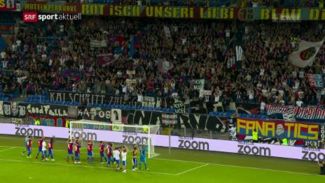 Link öffnet eine Lightbox. Video Basel bleibt im europäischen Geschäft abspielen