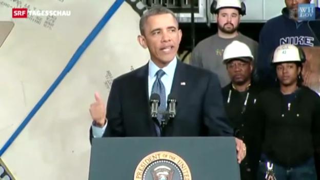 Video «Obama macht Milliarden-Kürzungen sichtbar» abspielen