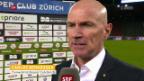 Video «Bernegger: «Mannschaft hat enorme Moral bewiesen»» abspielen