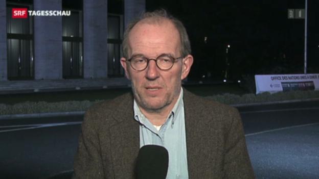 Video «Einschätzungen von UNO-Experte Andreas Zumach» abspielen