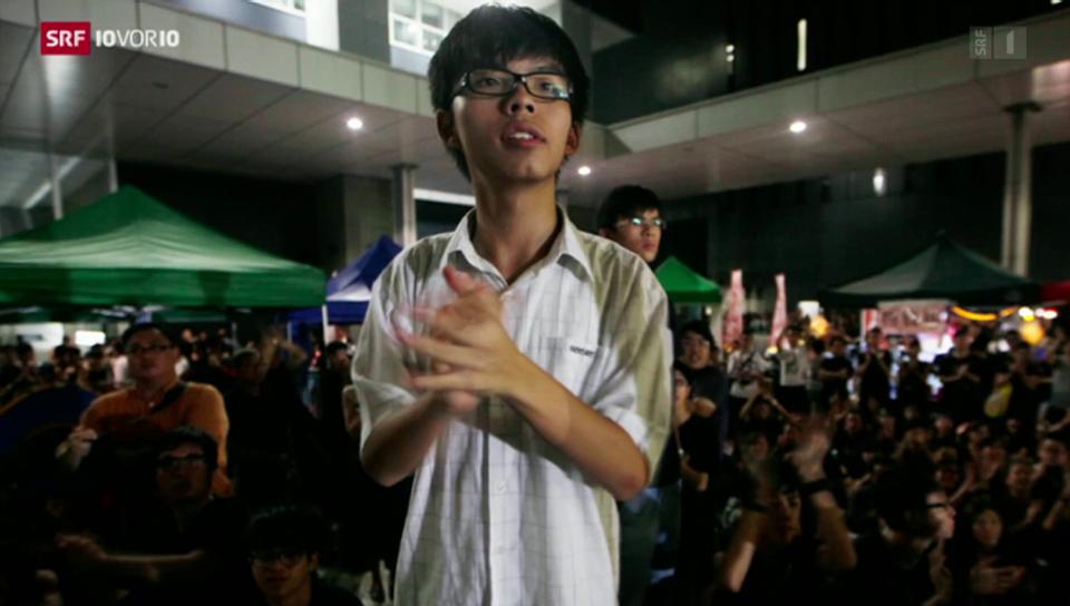 Regenschirm-Revolution: 17-Jähriger gegen Peking
