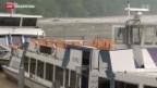 Video «Keine Schifffahrten auf dem Rhein» abspielen