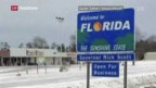 Video «Erster Schnee in Florida seit 29 Jahren» abspielen