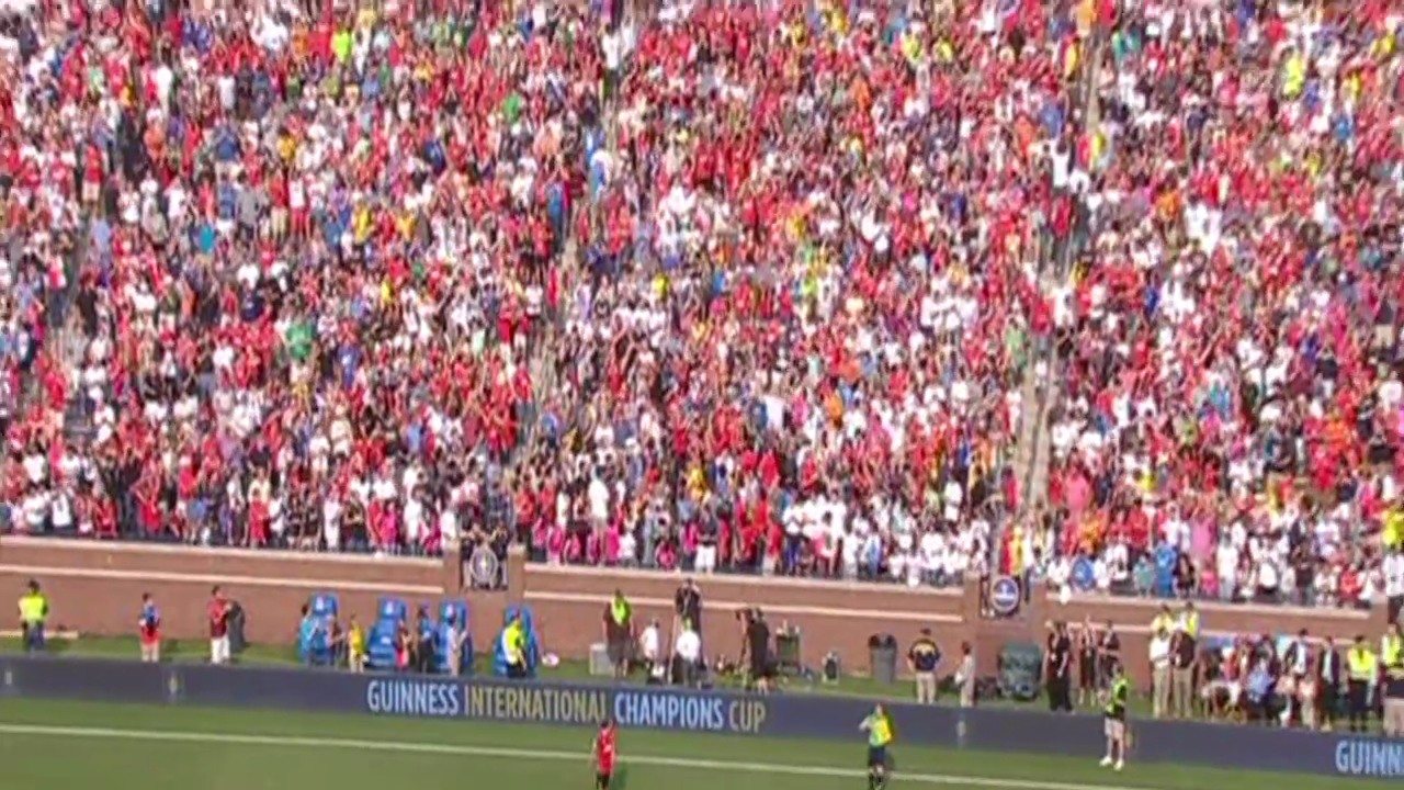 Fussball: Highlights Testspiel Manchester - Real