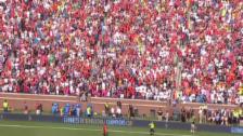 Video «Fussball: Highlights Testspiel Manchester - Real» abspielen