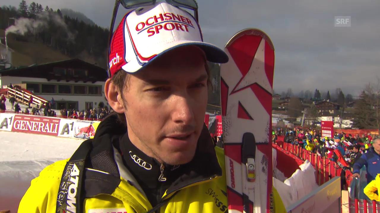 Ski: Weltcup in Kitzbühel, Abfahrtstraining