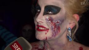 Video «Im Gruselkabinett: Zu Halloween gefällt, was erschreckt» abspielen