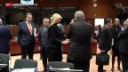Video «EU-Innenminister beraten sich erneut in Flüchtlingsfragen» abspielen