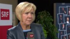 Video «Interview mit Monika Ribar, Präsidentin SBB, am Swiss Economic Forum 2018» abspielen
