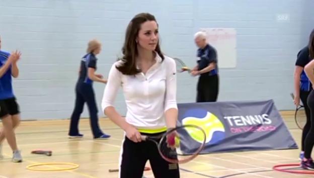Video «Herzogin Kate sportlich in Schottland (unkom.)» abspielen