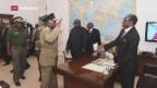 Video «Präsident Mugabe will offenbar sein Amt niederlegen» abspielen