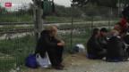 Video «Flüchtlinge leiden unter kaltem Wetter» abspielen
