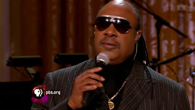 Video «Stevie Wonder bald 11-facher Vater» abspielen