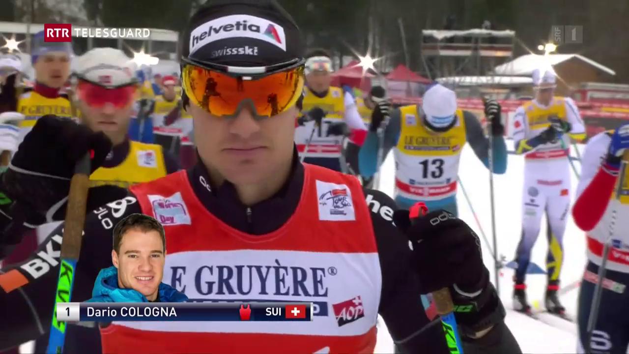 Dario Cologna sin via a la victoria al Tour de Ski