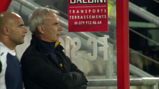 Video «Neues Trainerduo für Sion - mehrere Spieler werden degradiert» abspielen