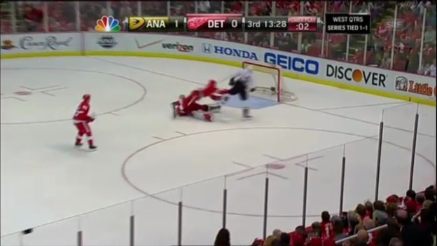 Video «Highlights Detroit - Anaheim» abspielen