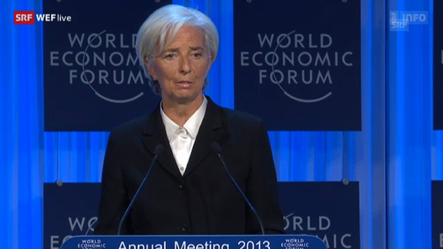 Christine Lagarde über die Jugendarbeitslosigkeit und die Bedeutung der Frauen für die Wirtschaft